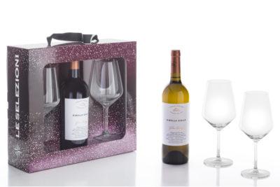 2 calici wine Villa Folini